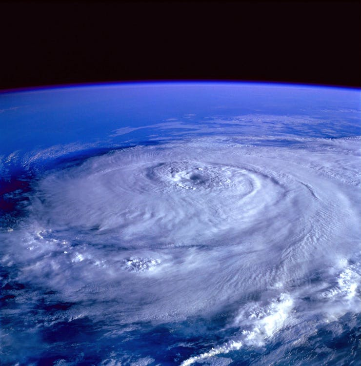 hurricane and climate change